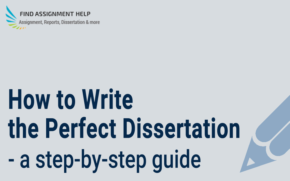 Dissertation Writing - A Step-by-Step Guide