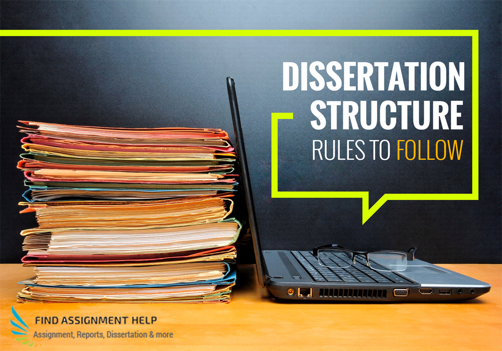 dissertation writing structure